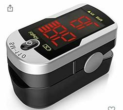 Deluxe SM-110 Two Way Display Finger Pulse Oximeter with Car